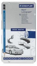 Staedtler Mars Lumograph Design Drafting Pencils Set Made in Germany Tin Case in Crafts, Art Supplies, Drawing & Lettering Supplies, Art Pencils & Charcoal | eBay