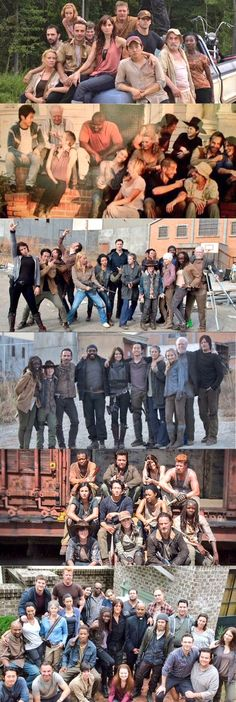 Looking at this makes me want to cry....I miss everyone that died (except Lori...) And thinking about how when they die they have to leave that wonderful family and it must be hard because they are all so close, and Carl has grown so much. It makes me sad to think that this show has to end