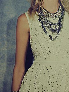 Doesn't have to be sequins! I love this embellished dress