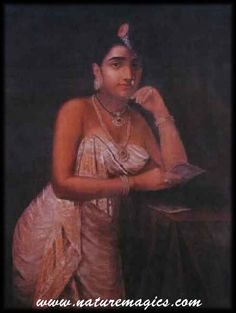 Raja Ravi Varma's Portrait of a lady with a love letter