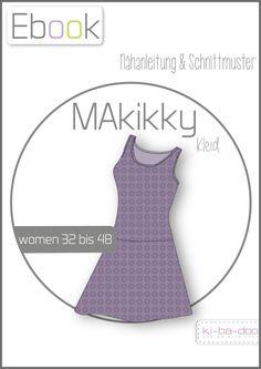 Ebook Sommerkleid MAkikky - Schnittmuster und Anleitung als PDF, versandkostenfrei