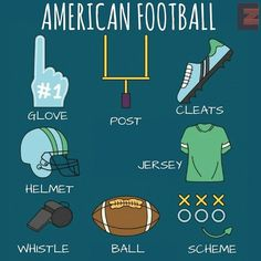 American Football Vocabulary
