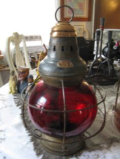 Gorgeous antique lantern from Roxy Farms Antiques in Saxapahaw, NC