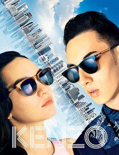 320b1391e81f64 MONA MATSUOKA FOR KENZO SS 2015 CAMPAIGN 7 Lunette Kenzo, Mona Matsuoka,  Fashion Advertising