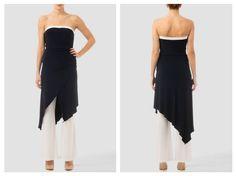 Hermoso modelo Joseph Ribkoff blanco y negro ideal para las mujeres elegantes y frescas a la vez.