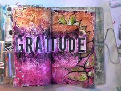 inspiration wednesday 10.24.12   acrylics and bead gel medium