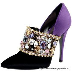 Jeweled Shoe by Casadei