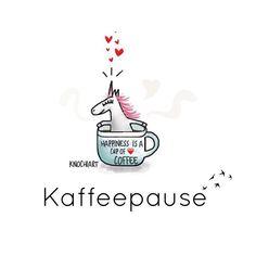 #Happiness is a #cup of #coffee ☕️  Guten morgen…kommt alle gut in die neue Woche …☕️  #herzallerliebst #spruch #Sprüche #spruchdestages #motivation ️ #thinkpositive ⚛ #themessageislove #einhorn #unicorn (hier: Wüstheuterode)