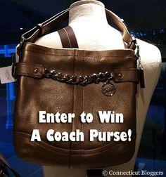Enter to win a Coach purse from @CTBloggers #fallfashion