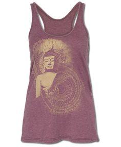 SoulFlower-Buddha Yoga Tank-$28.00 #liviniseasy @Soul Flower
