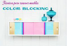 Técnicas para renovar muebles en www.bricoydeco.com
