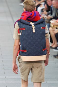 Louis Vuitton Backpack madness. Sickness. Deliciousness.