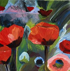 Tulips, acrylic on canvas. Painting & Drawing, Tulips, Paintings, Canvas, Drawings, Art, Tela, Paint, Painting Art