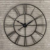 Addison Open Face Clock Blank Walls And Open Face