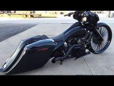 F Bomb Baggers 2015 Harley Bagger Turbo Street Glide with Killer Sounds Harley Bagger, Bagger Motorcycle, Harley Bikes, Motorcycle Garage, Harley Gear, Motorcycle Cover, Motorcycle Paint, Motorcycle Tips, Harley Softail