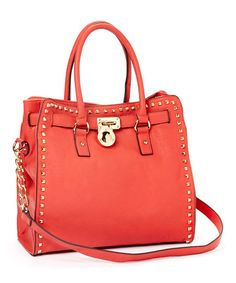 Coral Stone Office-Chic Tote