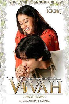 Vivah Hindi Movie Online - Shahid Kapoor, Amrita Rao and Anupam Kher. Directed by Sooraj R. Barjatya. Music by Ravindra Jain. 2006 Vivah Hindi Movie Online.