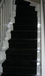 Traploper zwart