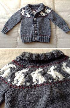 Baby Cardigan Knitting Pattern Free, Baby Boy Knitting Patterns, Baby Sweater Patterns, Crochet Baby Cardigan, Knitting For Kids, Knit Patterns, Free Knitting, Baby Sweaters, Pulls
