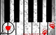 I Love Music..La siguiente imagen fue creada por medio del Programa de Manipulación de Imágenes GNU. Con el pincel Music_19, Gimp Brush, AnimalTracks_3,Fuente Llamada Trebuchet de medidas (640x480) y de orientación Horizontal.