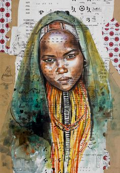 Browse all products in the Tirages papier d'art - Paper Art Prints category from Stephanie Ledoux. Collage Portrait, Collage Art, Portraits, Art Sur Toile, Ledoux, Art Premier, A Level Art, Afro Art, Tribal Art