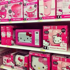 Kitchen Appliances This Will Prob All Be In My Kitchen One Day Hello Kitty