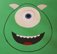 Our Pinteresting Family: Monster Party Game - Pin the Eye on Mike