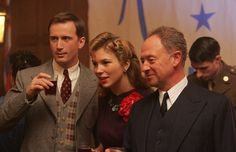 Foyle's war - Milner,Sam, and Foyle. Played by Anthony Howell,Honeysuckle Weeks and Michael Kitchen