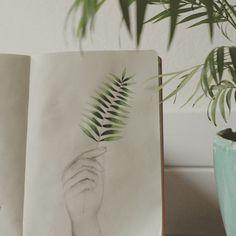 Illustration plants are friends - bladeren - door Vera Vos