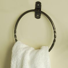 The #perfect #towel #ring