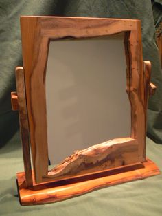 Dressing Table Mirror in Yew