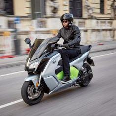 BMW Motorrad demonstrates C evolution scooter at CENEX 2016 - http://superbike-news.co.uk/wordpress/Motorcycle-News/bmw-motorrad-demonstrates-c-evolution-scooter-cenex-2016/