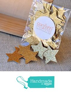 Glitter Gold Star Confetti. Birthday Party Decorations 2 Packs (50ct each) from Confetti Momma https://smile.amazon.com/dp/B015WWU488/ref=hnd_sw_r_pi_dp_UPnpybW3V6VX7 #handmadeatamazon