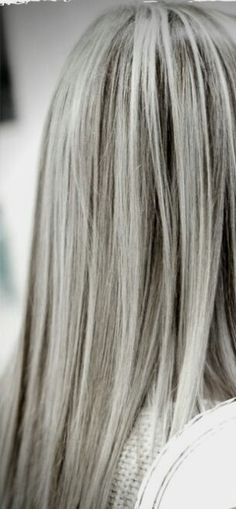 Gorgeous Silvery Grey Hair Me In My 50s
