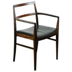 rosewood armchair, arne vodder, 1955