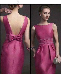 Simple Dresses, Elegant Dresses, Casual Dresses, Fashion Dresses, Formal Dresses, Pretty Outfits, Pretty Dresses, Beautiful Dresses, Mother Of Groom Dresses