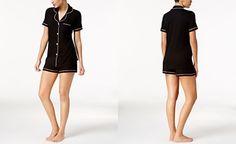 Cosabella Bella Satin-Trim Short Pajama Set AMORE9621