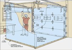 Five-Minute Spray Booth Diagram - A Closer Look