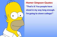 Funny Quotes by Homer Simpson Homer Quotes, Homer Simpson Quotes, Tv Quotes, Simpsons Funny, Simpsons Quotes, Homer Donuts, Laugh Now Cry Later, Morrison, Famous Cartoons