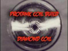 Protank Diamond Coil Build - YouTube