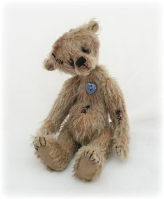 Pipkins Bears artist teddy bear E pattern PDF by pipkinsbears