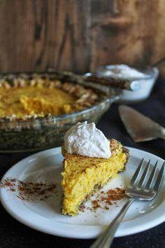 Veg Desserts: Raw Vegan Pumpkin Pie