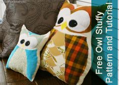 Remodelaholic » Blog Archive Owl Pillow Pattern AT LAST! » Remodelaholic