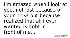 I'm amazed