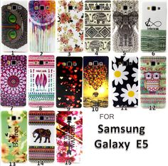 This item is now available in our shop.   For Samsung Galaxy E5 Case TPU Colourful Painting Style Owl Bird Elephant Beautiful Flower Cover Cases For E 5 E500+Gift - US $1.99 http://mobileelectronicsstore.com/products/for-samsung-galaxy-e5-case-tpu-colourful-painting-style-owl-bird-elephant-beautiful-flower-cover-cases-for-e-5-e500gift/