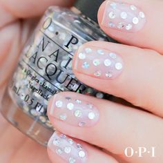 Silver And White Dots