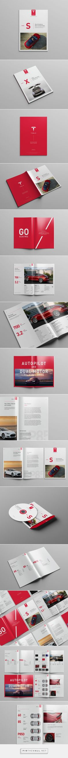 Tesla Model S Catalog #graphicdesign - created via http://pinthemall.net
