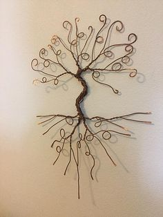 Tree of life wall decor copper art wall art tree sculpture