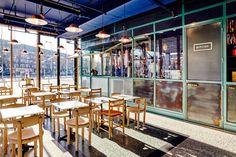Roast Room Amsterdam Interior design by Studio Modijefsky