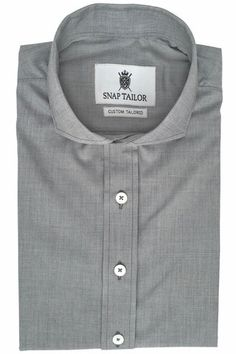 """Cotton Blend Fabric for better wrinkle resistance compared to 100% cotton Fabric Weight: Lightweight/Midweight Fabric Type: End-on-End Non-Iron: The composition of this fabric and its finishing make it extremely wrinkle resistant and easy to maintain. Machine washable Casual Shirt features shorter 1-1/2"""" rear collar height for a more casual look"""